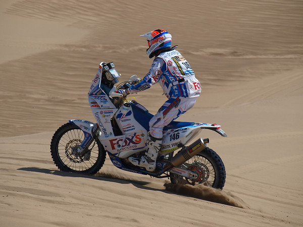 Dakar 2013, Stage 2, Pisco-Pisco, Kurt's photography & album
